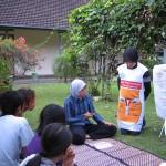 Pelatihan Kesehatan Reproduksi pada Pria oleh Bidan Alumni Beasiswa YPKP